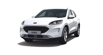 Ford New Kuga - Available In Frozen White
